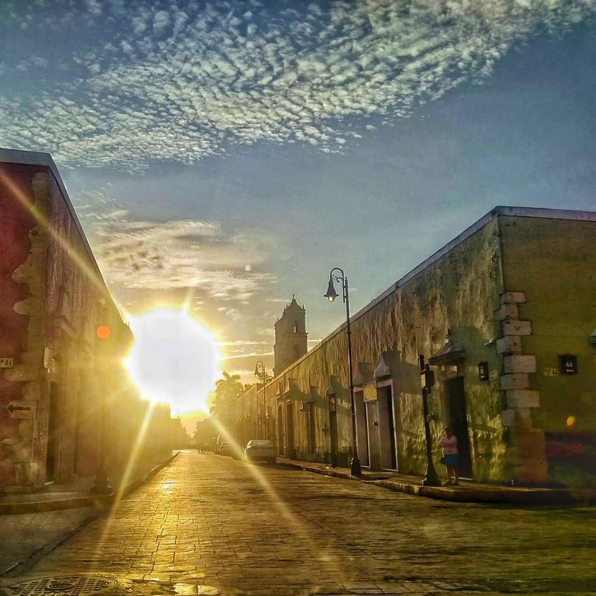 Los Frailes street